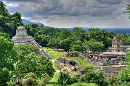 Jedno z nejkrásnějších mayských měst - Palenque
