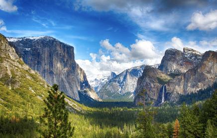 Užijete si výhledy na El Capitan a Halfdome
