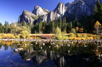 Výhledy v Národní parku Yosemite jen tak nezapomenete