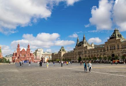 Projdete si slavné náměstí v Moskvě