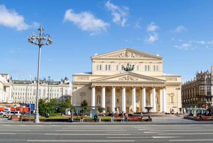 Dovedeme Vás k nevýznamnějšímu divadlu Bolshoi