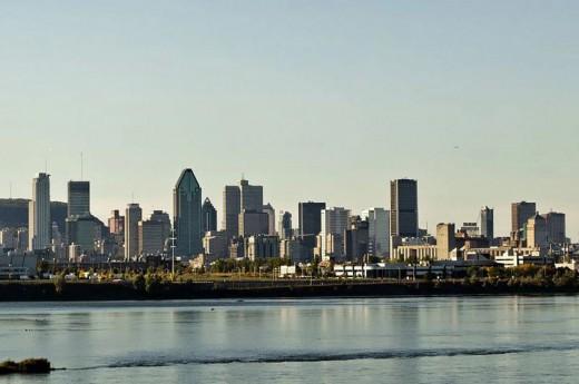 Montreal - Panorama downtownu