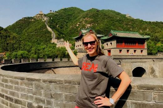 Naše cesta začíná na Velké čínské zdi