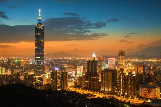 Nejvyšší věž Taiwanu, Taipei 101