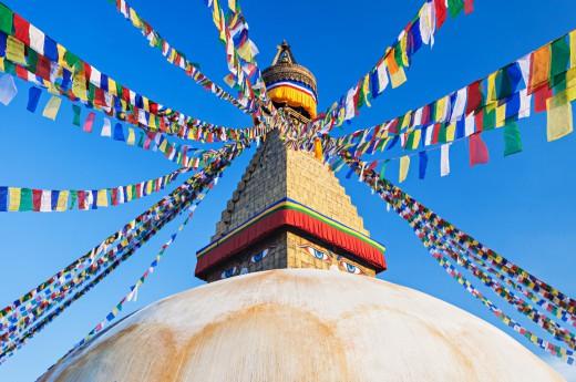 Buddhistický Bodnath