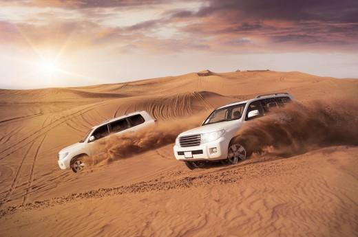 Pouštní safari na dunách
