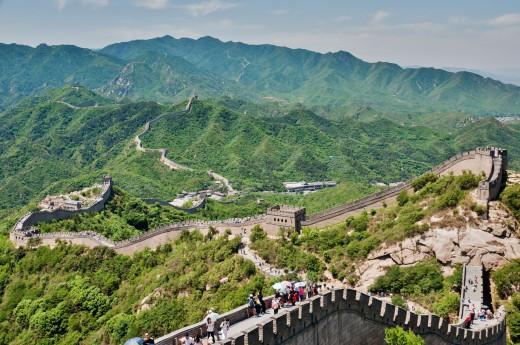 Velkou Čínskou zeď si vyfotíte ze všech úhlů
