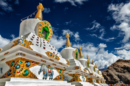 Cesta přes Kašmír do indického Tibetu