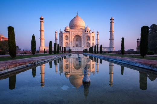 Taj Mahal - stavba postavená z lásky