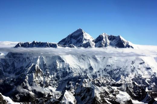 Majestátnosti Himáláje z ptačí perspektivy