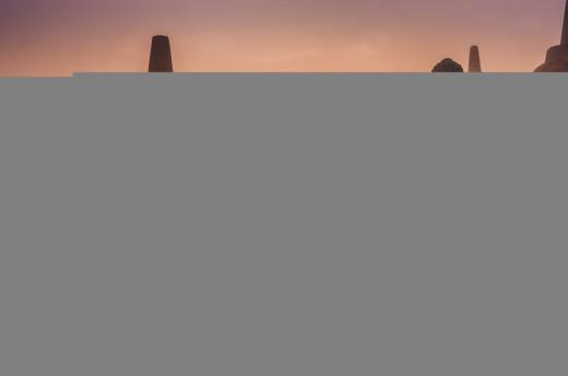 Dostanete se do oblasti střední Jávy, Borobudur