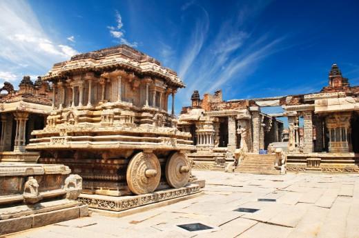 V Hampi si projdeme ruiny hinduistického království