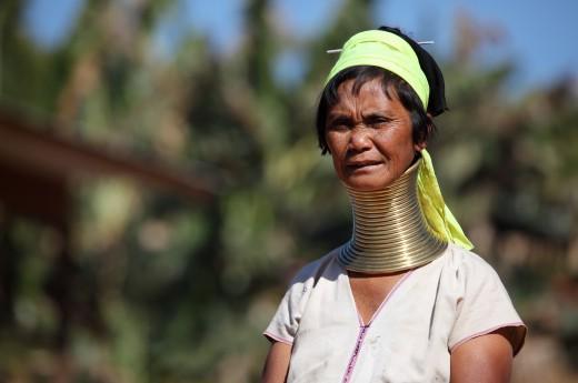 Sever země je ještě více tradiční ve srovnání s jihem Thajska