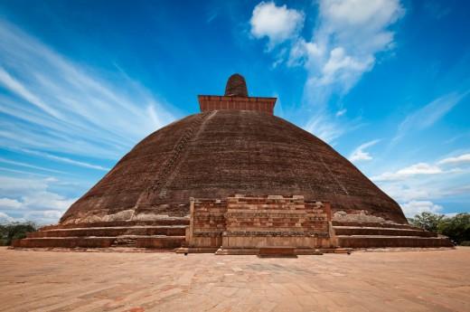 Dojdete až k nejzachovalejší pagodě Srí lanky