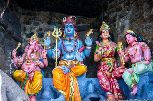 Detaily hinduistických chrámů