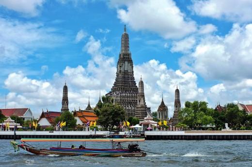Prohlídka Bangkoku z lodi
