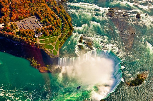 Niagarské vodopády jsou perlou této cesty