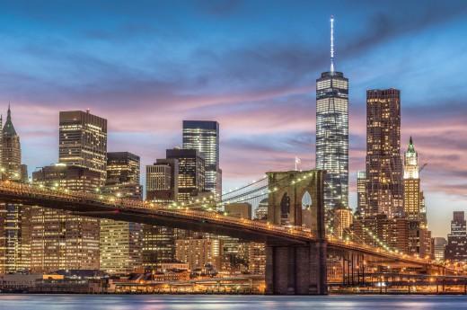 Noční procházka New Yorkem