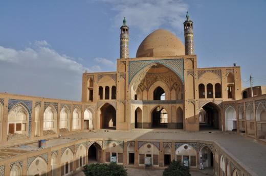 Starověká mešita v Íránu