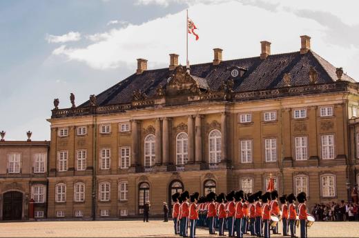 Navštívíte královský palác Amalienborg