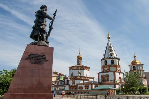Objevíte krásy Irkutsku