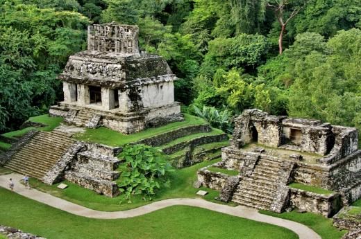 Palenque je stále pod nánosem džungle