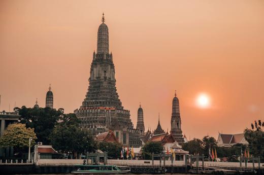 Užijete si Bangkok při západu slunce