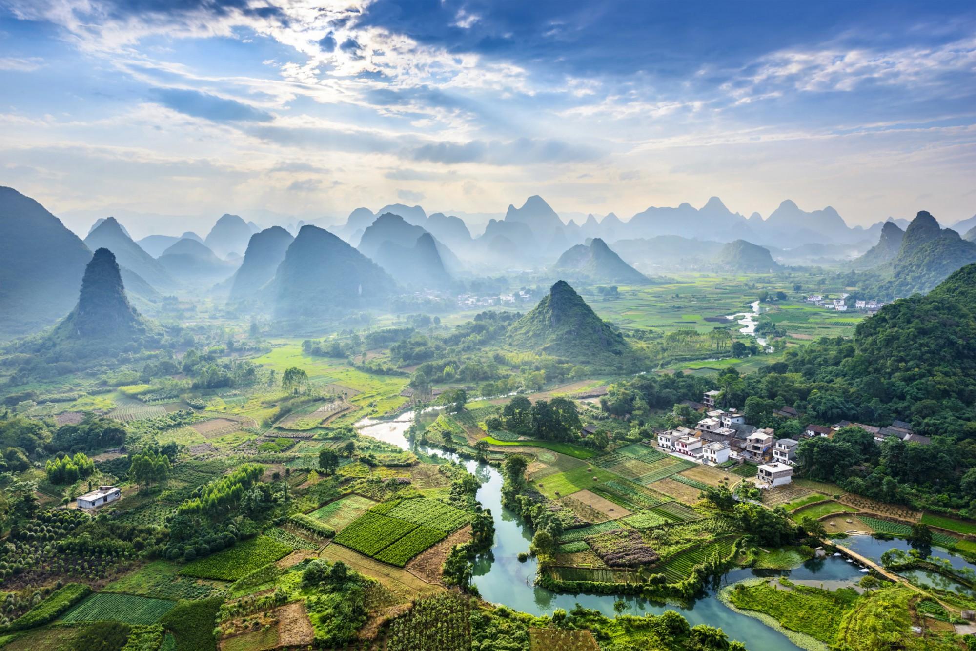 O Yangshuo a okolí hovoří Číňané jako o nejkrásnějších místech na světě