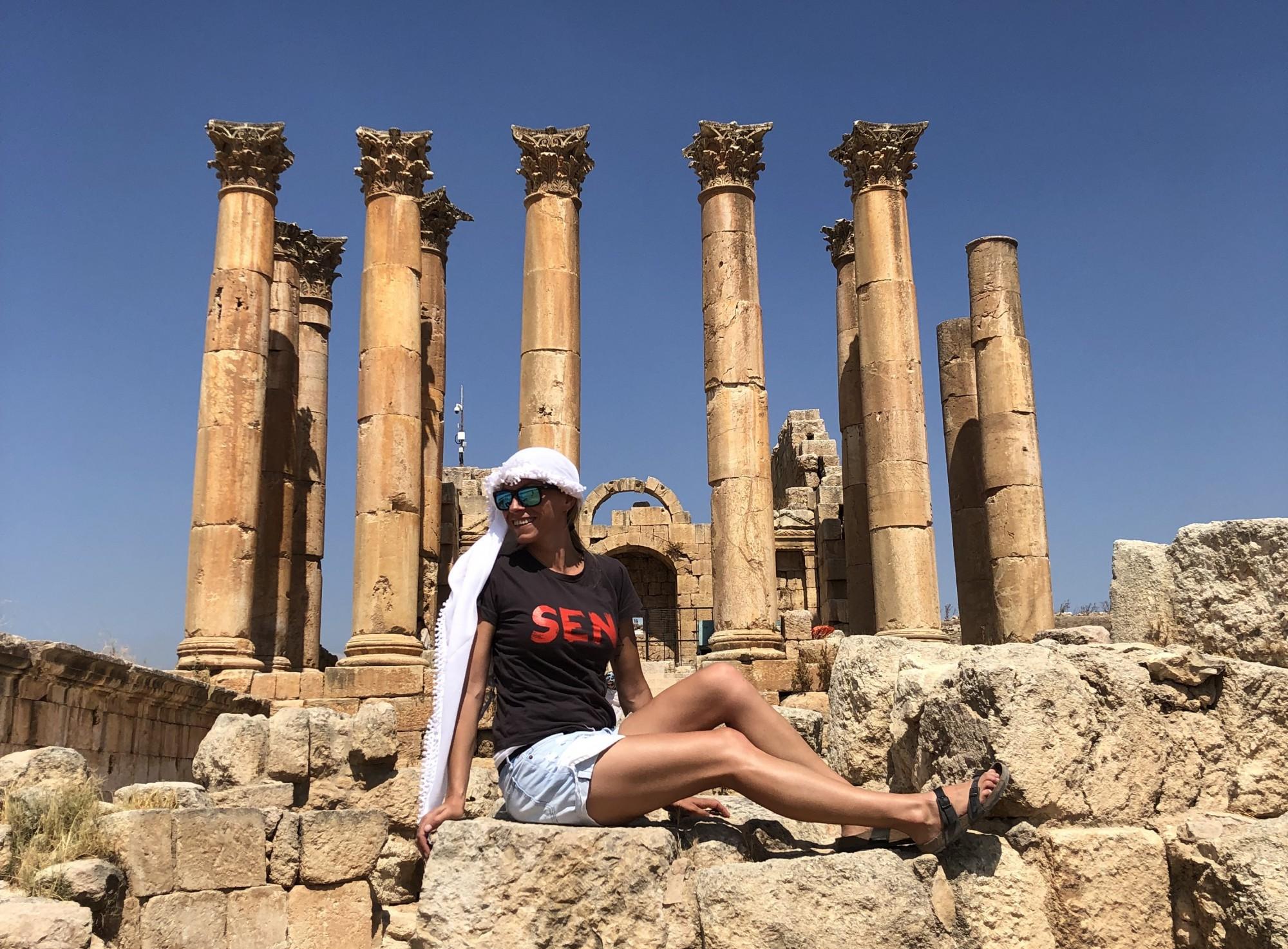 Ruiny jordánského Jarashu