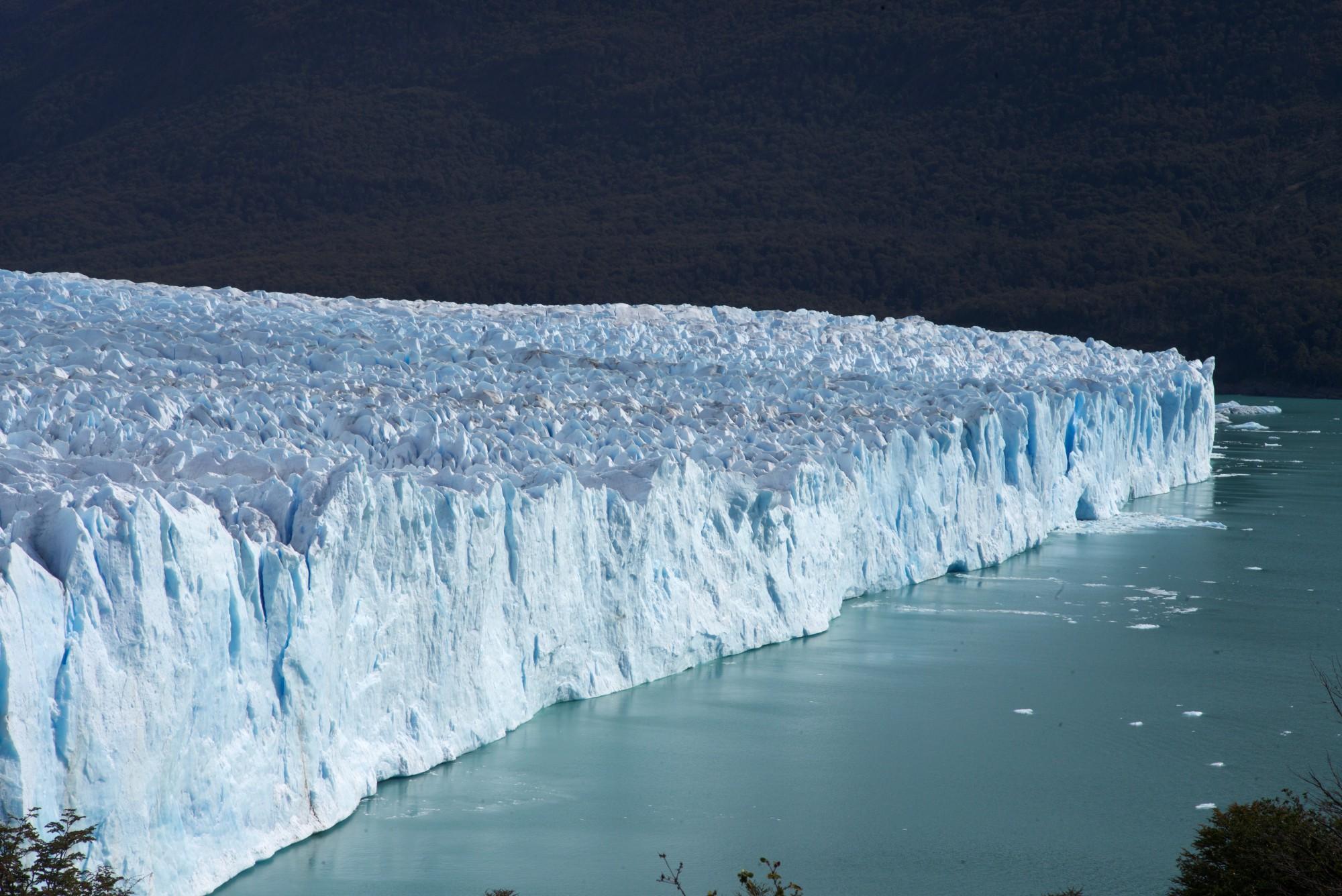 Těšit se můžete na ledovec Perito Moreno