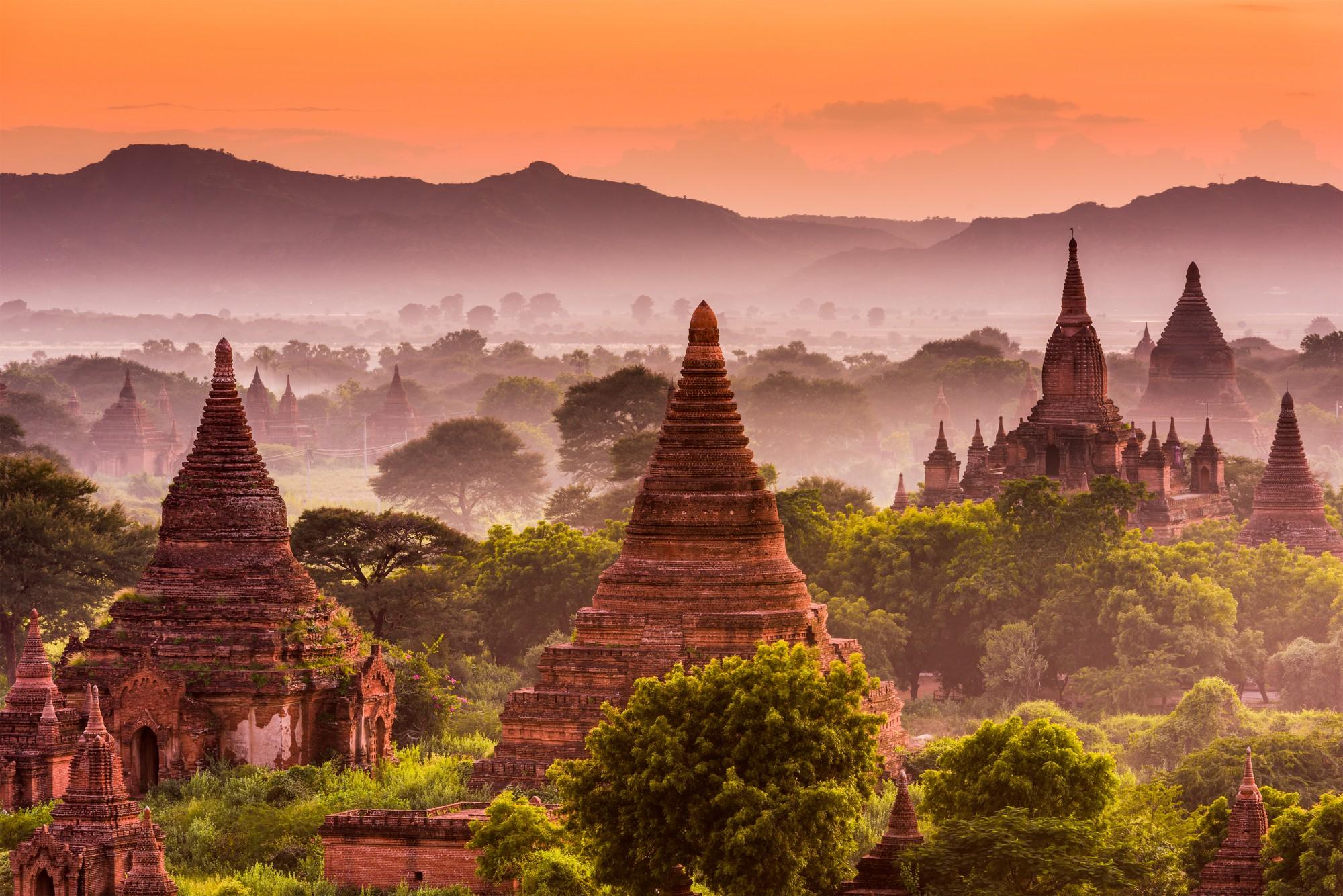 Uděláte si typickou fotku z Barmy