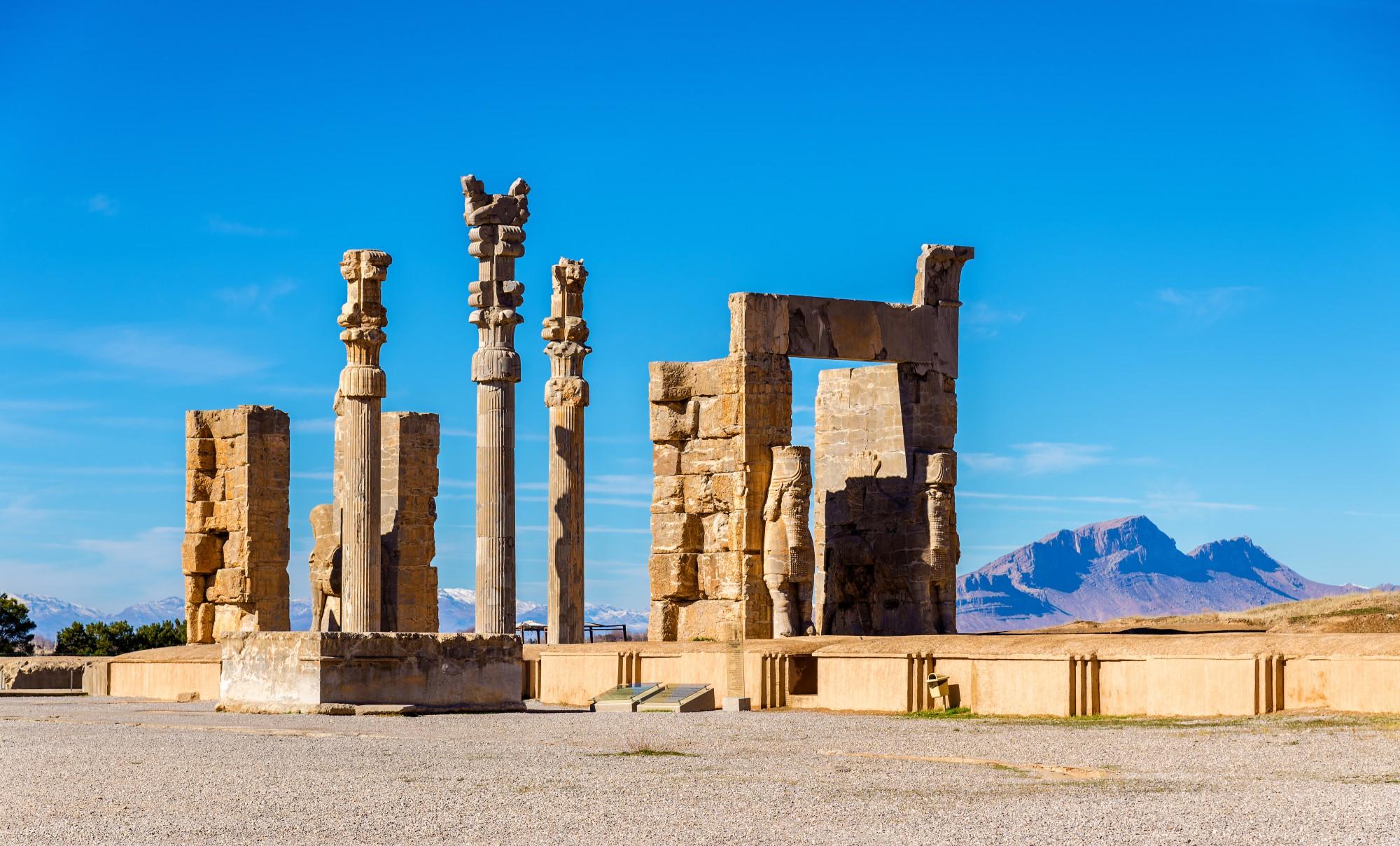 Persepolis - pozůstatky bývalé perské říše