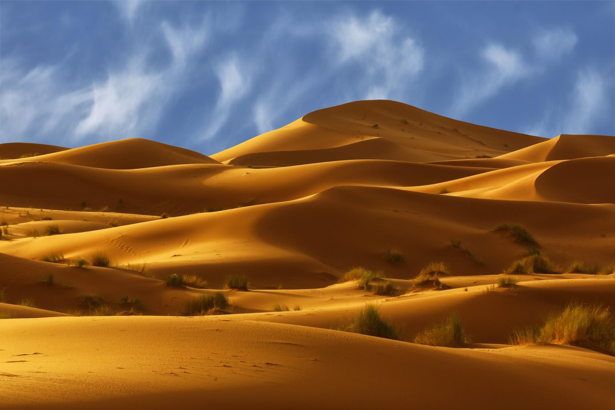 Erg, Chebbi, oblast krásných písečných dun