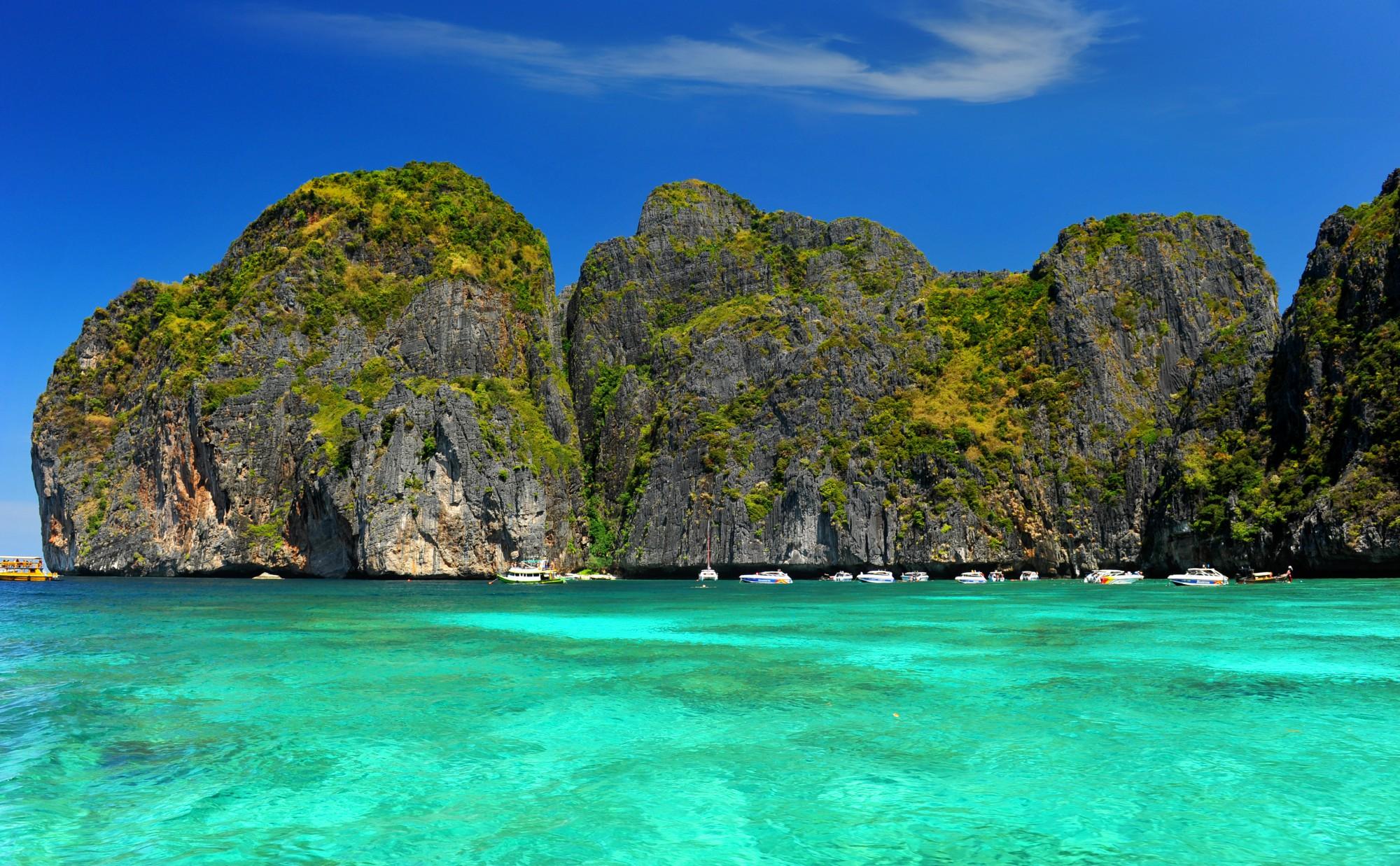 Na lodi prozkoumáte ostrovy kolem Krabi