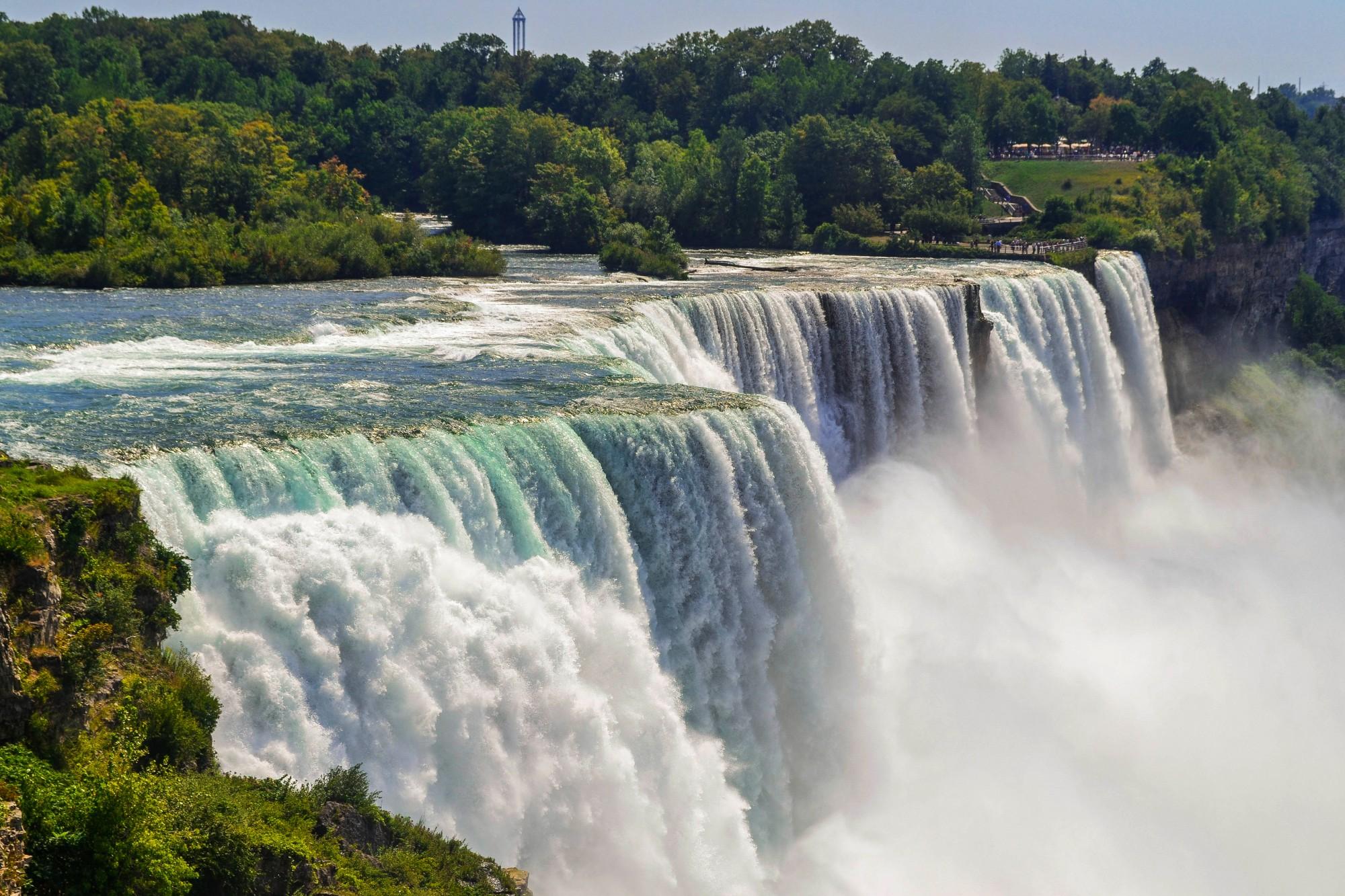 Niagarské vodopády jsou jedny z nejkrásnějších na světě