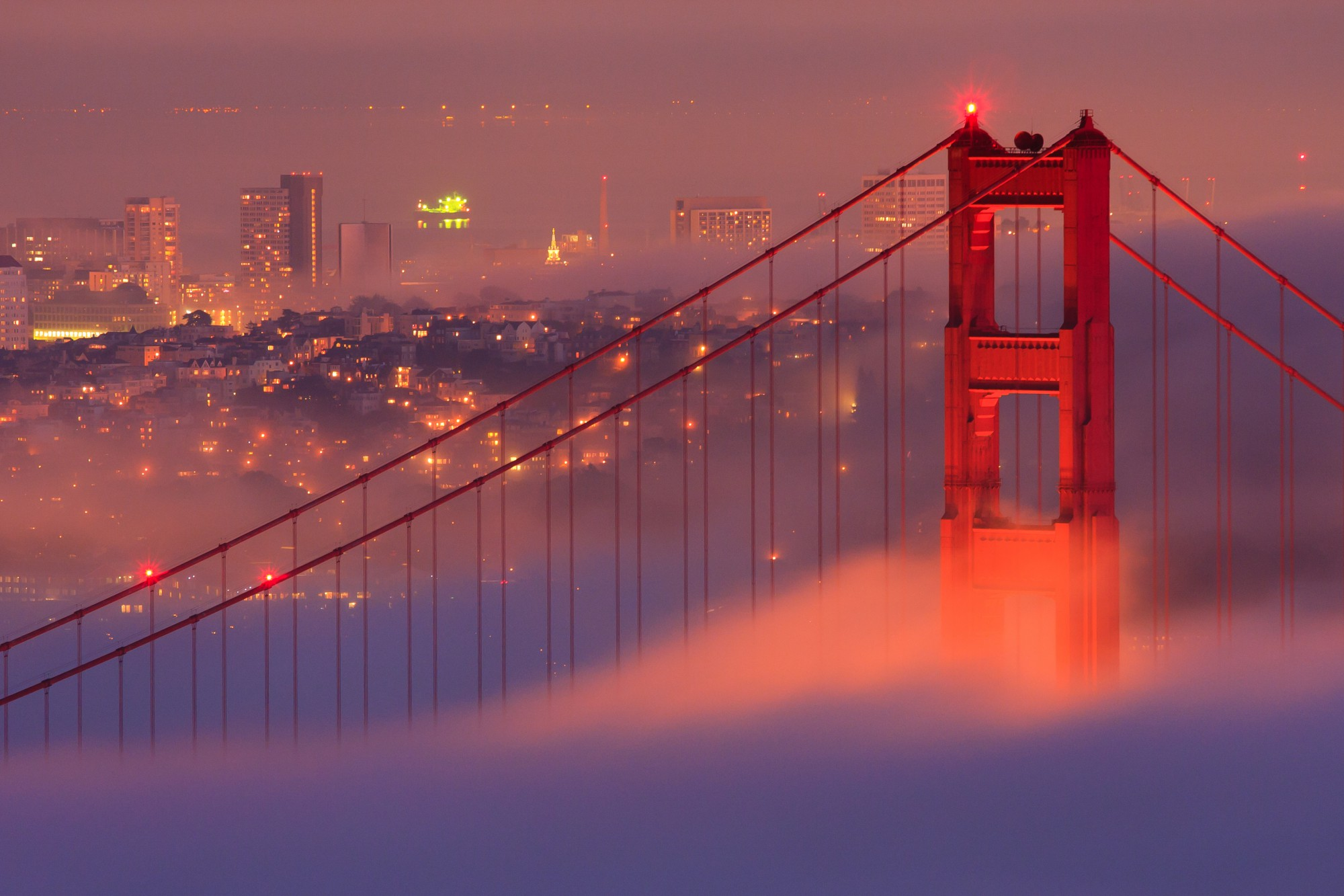 Těšit se můžete na ohromující výhled na Golden Gate