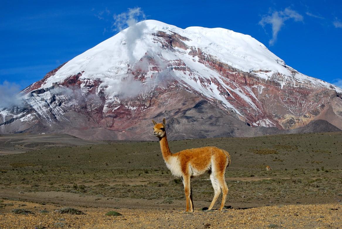 Díky poloze na rovníku je ekvádorské Chimborazo skutečně nejvzdálenější místo na zemi od zemského jádra