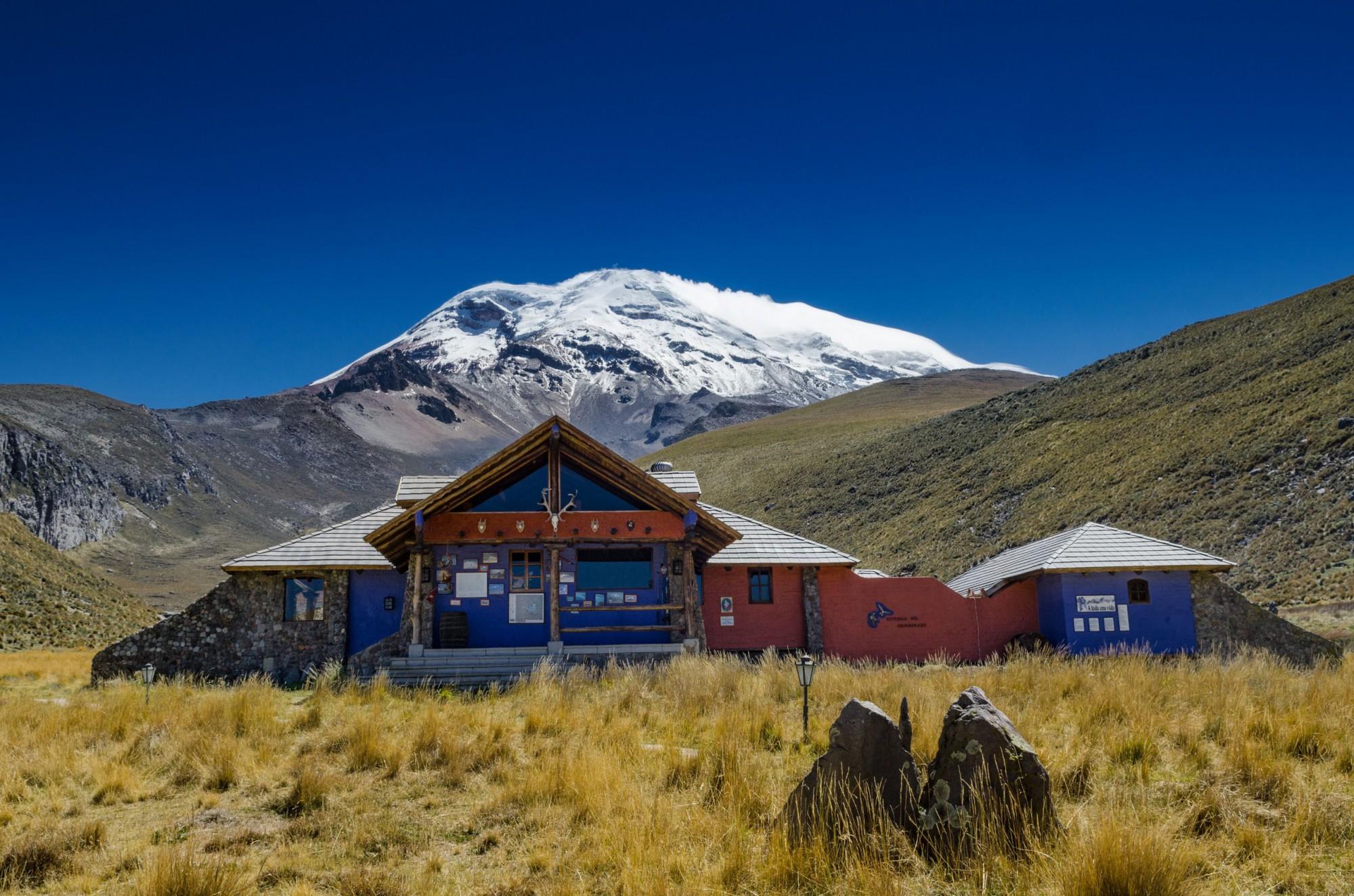 Chimborazo Lodge v nadmořské výšce 4000 m n.m.