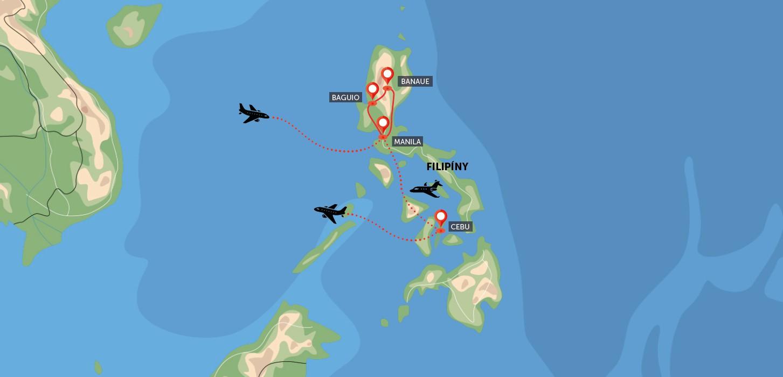 Filipíny, poznání a krásné pláže