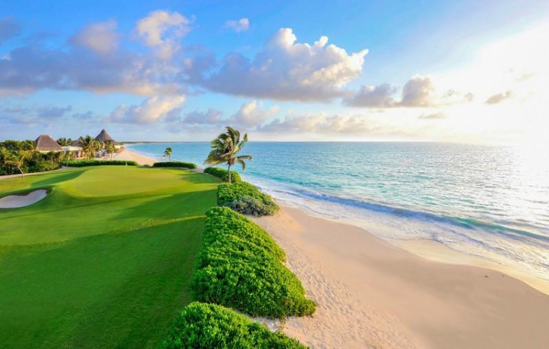Golf u pláže