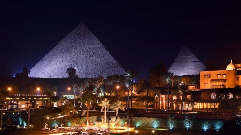 Nejlepší hotely světa: Marriot Mena House, Káhira 3 noci