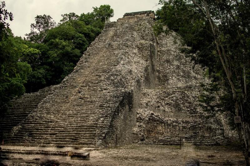Pyramidy Coba, koupání se v cenote a návštěva mayské vesnice