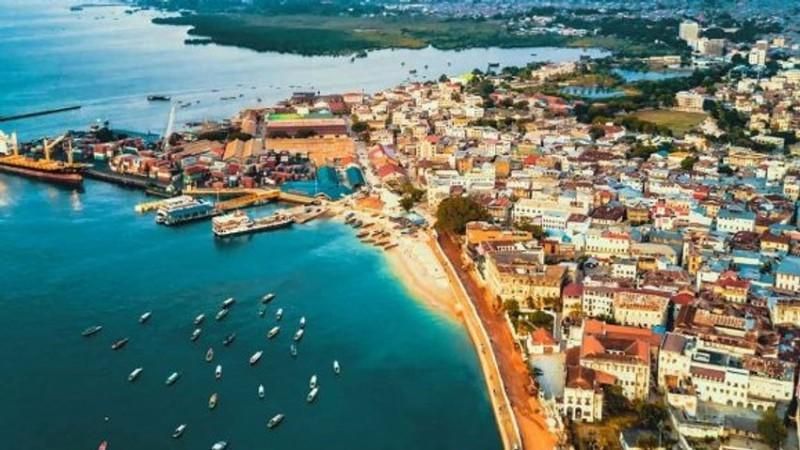 Vyhlídkový let nad Zanzibarem