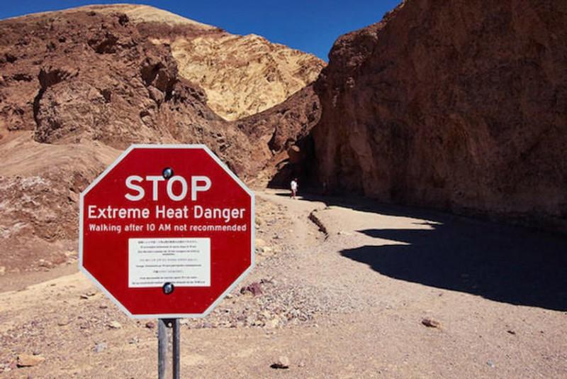 Celodenní výlet do Death valley