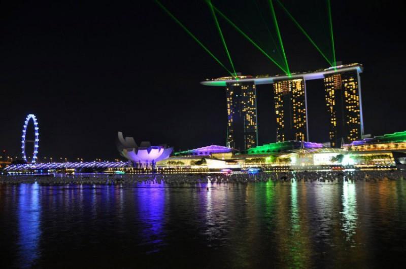 Nejlepší hotely světa: Marina Bay Sands Singapur | 1 noc