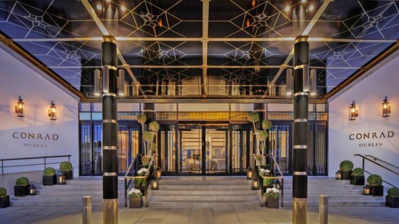 Dublin - luxusní hotel Conrad | 2 noci