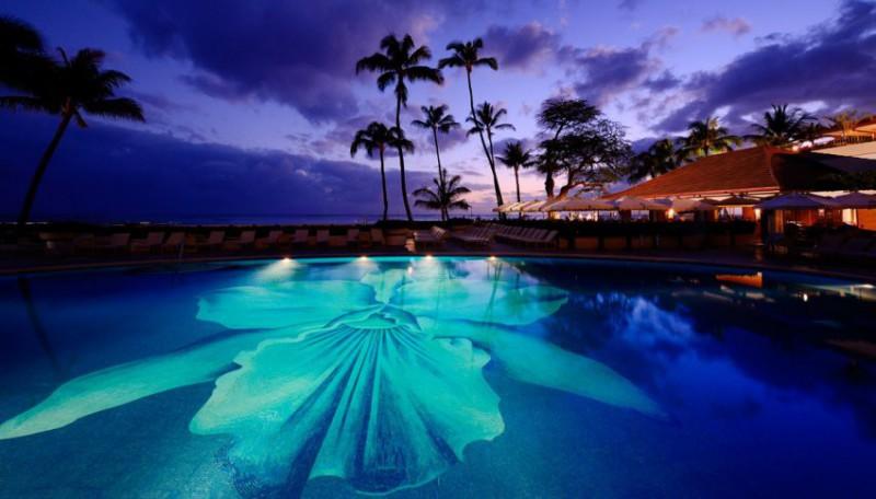 Luxusní hotel Halekulani na Havajských ostrovech Honolulu   4 noci