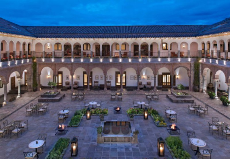 Nejlepší hotely světa: JW Marriott el Convento Cusco Cuzco   4 noci