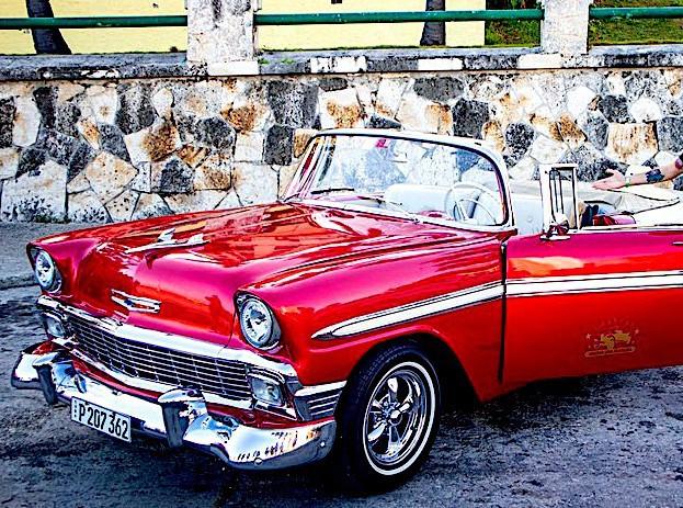 Jízda veteránem po Havaně