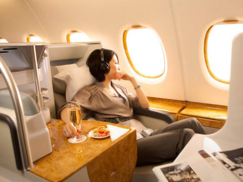 Business class letenka letadla Star Alliance